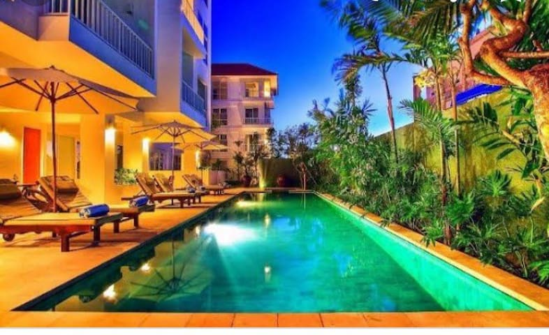Beautiful center Legian apartment close to beach