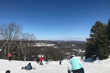 Enjoy great views and skiing conditions at Camelback