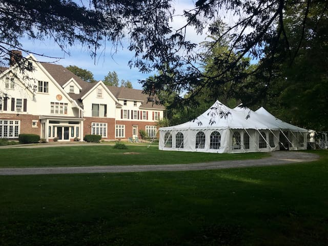 Great spot for DIY weddings for up to 75 guests - additional $1500 (50 guests) and $2000 facility fee (up to 75 guests plus mandatory tent rental.)