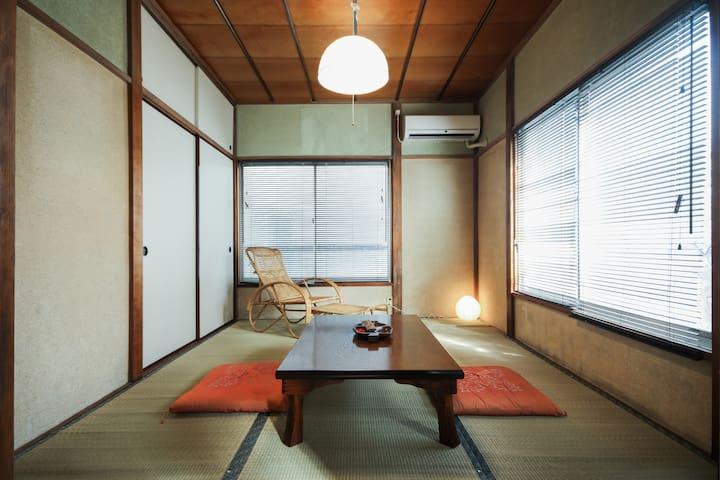 Ikebukuro tatami apartment A, public bath, wi-fi