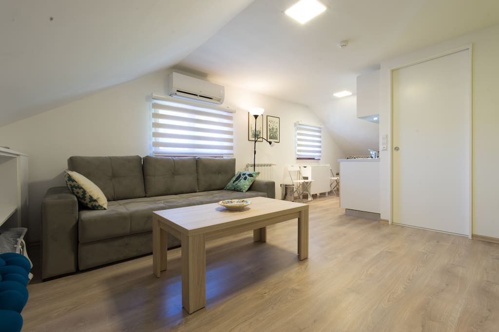 A thoughtful plan and smart furniture choices make this studio feel like a fully customised abode