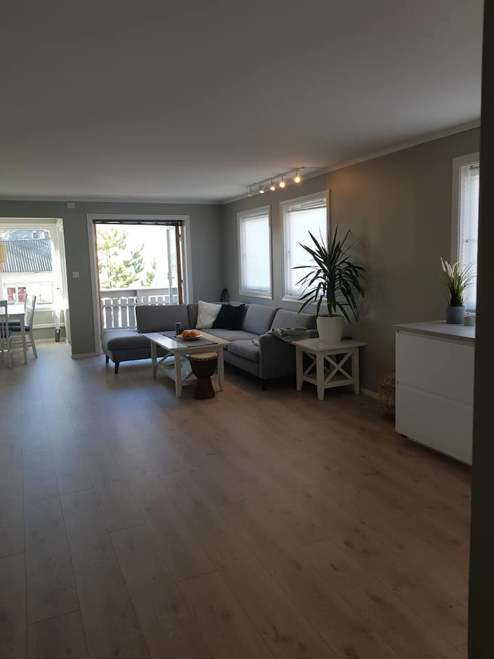 Sentrumsnær/nyoppusset leilighet. 83 m²