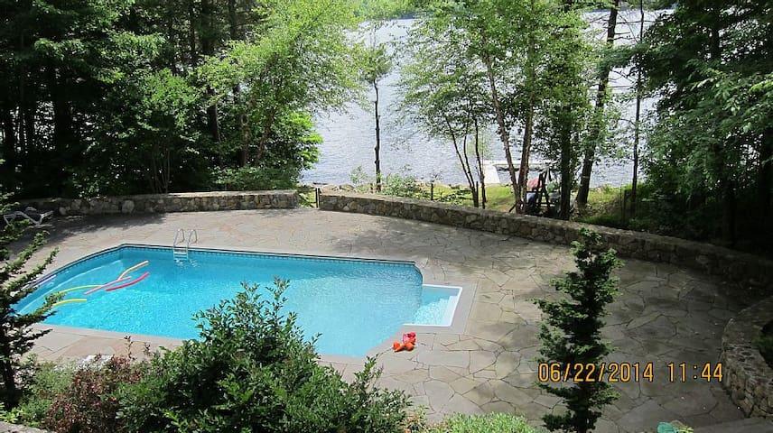 Litchfield CT Lake House  litc(URL HIDDEN) - Goshen - Semesterboende