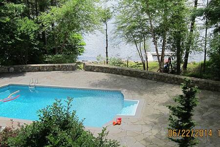 Litchfield CT Lake House  litchfieldlakehouse.com - 戈申(Goshen) - 度假屋
