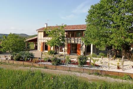 Maison avec SPA intérieur dans un écrin de verdure