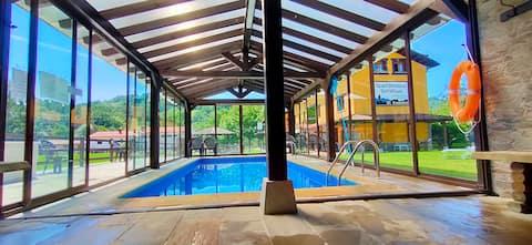 Estudio con piscina climatizada  Cangas de Onis 3