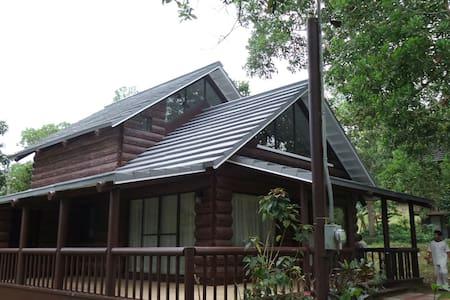 Charming, & quiet log cabin - Tagaytay - Cabin