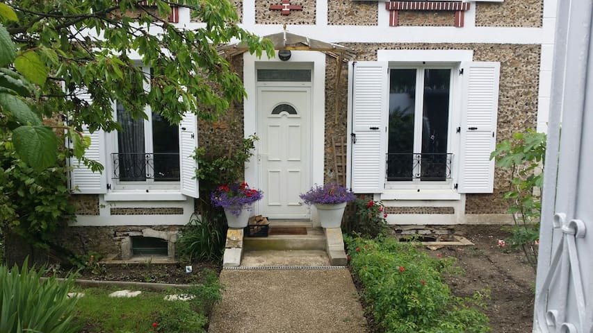 Appartement cosy à 5 min à pied de la gare RER D - Montgeron - Apartament
