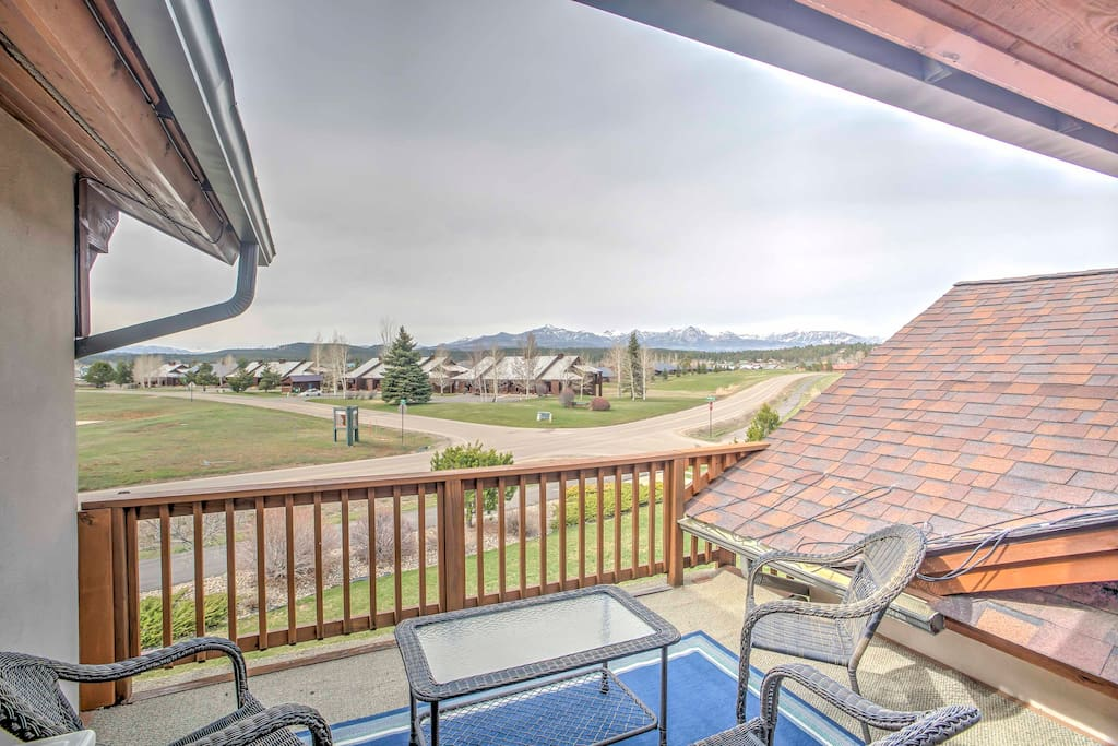 Admire views from your deck!