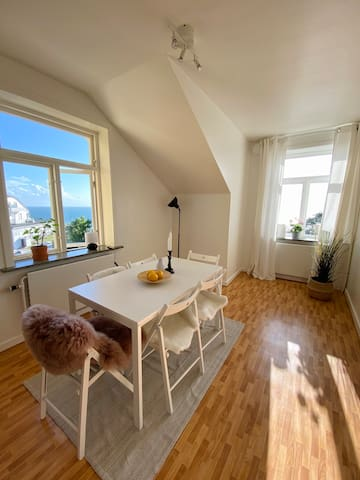 2-room sea-view apartment in the heart of Mölle