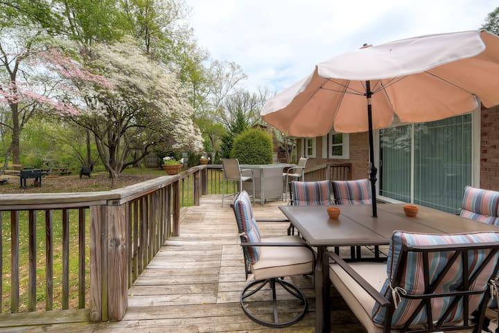 4BR Watauga River Getaway - Elizabethton - House