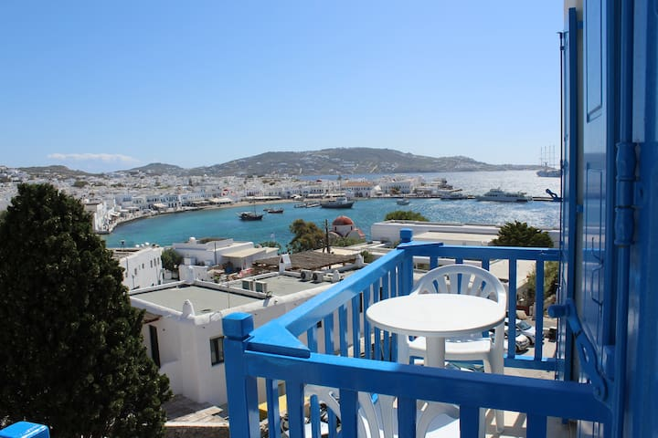 Stelios View Mykonos Town -Double Room Sea View