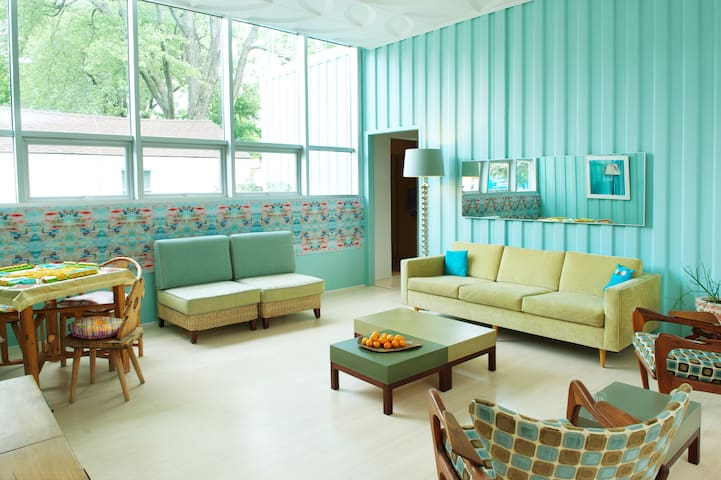 Art Infused Modern Home
