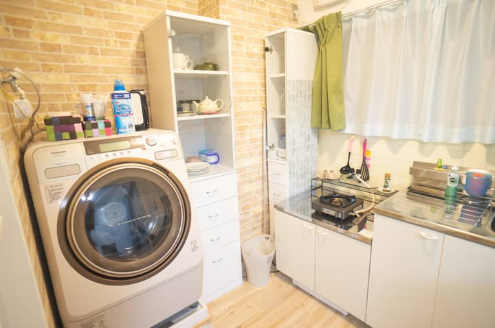 Near Station with Laundry room