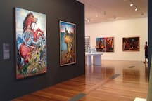 This Art Gallery is located just 5 km from the property and guests could just relax here.