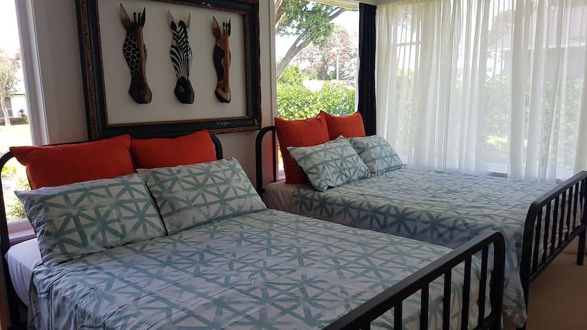 Bedroom 4. 2 Double beds