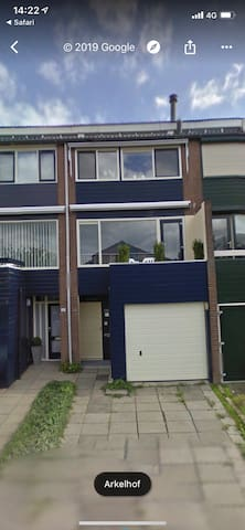 Great apartment with a nice garden, close to BREDA