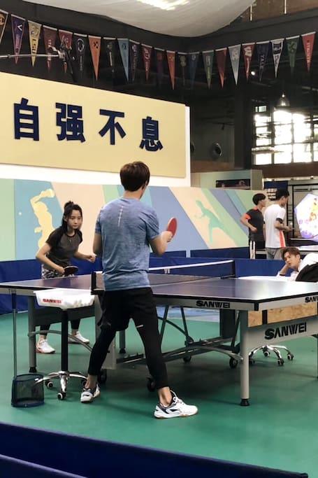祖丽乒乓球教学