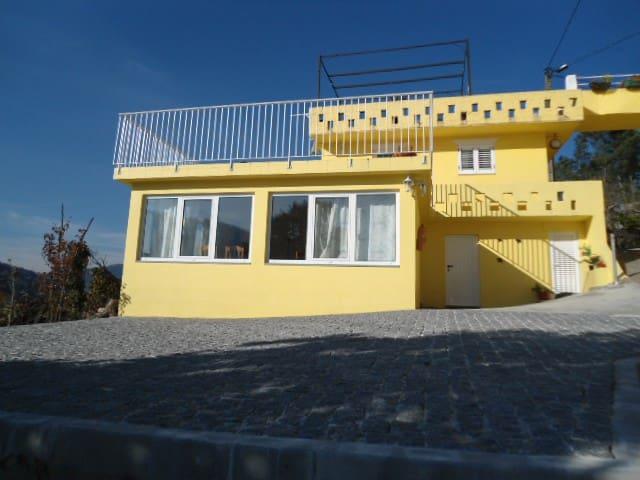 Casa Amarela na região do Douro - Sande - บ้าน