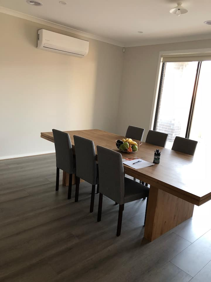 comfortable & spacious new house