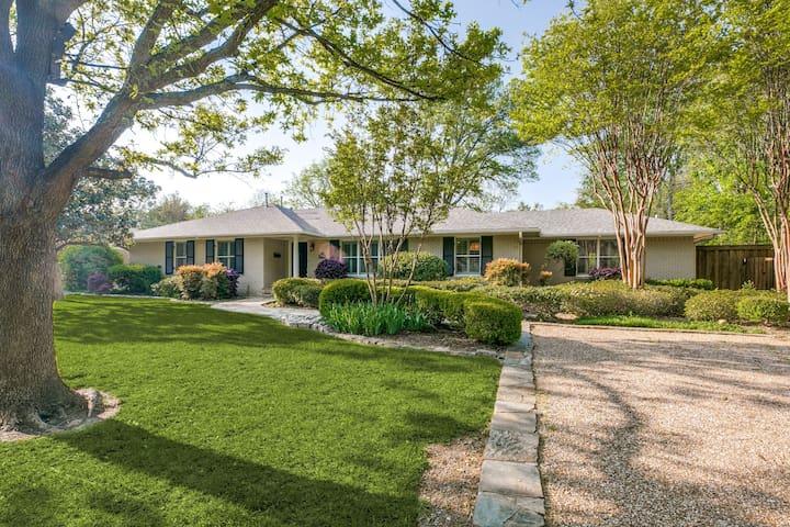 Enchanting Preston Hollow Home