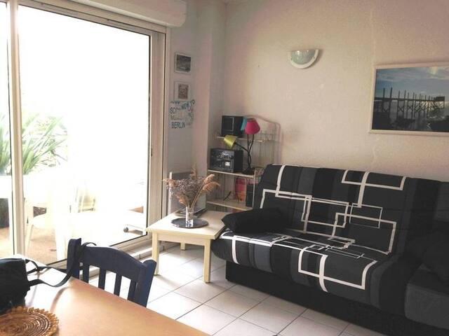 Appartement dans residence avec piscine - Fouras - Apartament