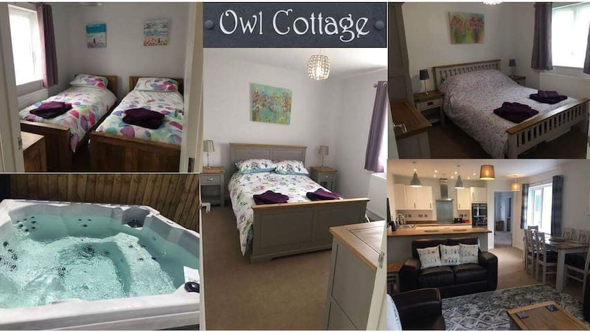 Owl Cottage With Hot Tub, North Cornwall