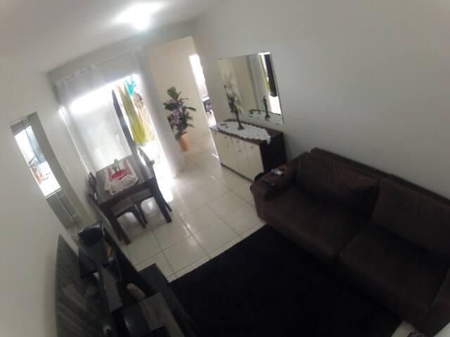 Apartamento em local tranquilo fácil acesso - São José dos Pinhais
