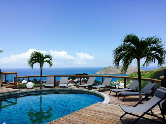 Flamands Hillside Villa 2 bedrooms - Gustavia