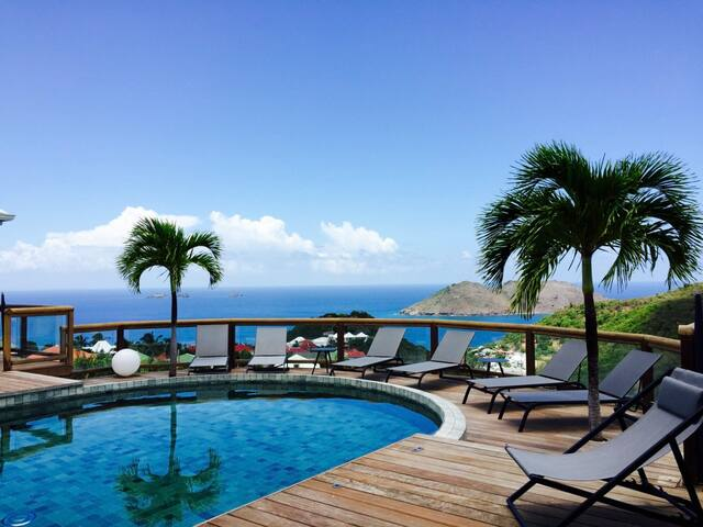 Flamands Hillside Villa 2 bedrooms - Gustavia - Villa