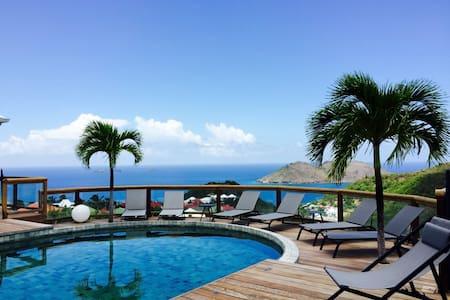 Flamands Hillside Villa 2 bedrooms - Gustavia