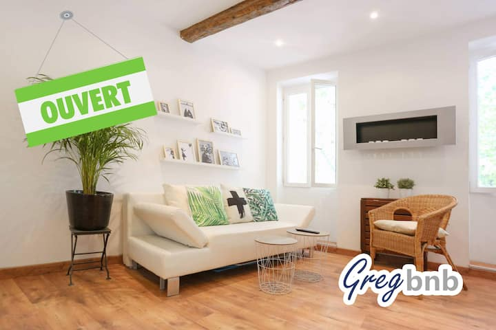 GregBnb - Cozy and Design - WiFi