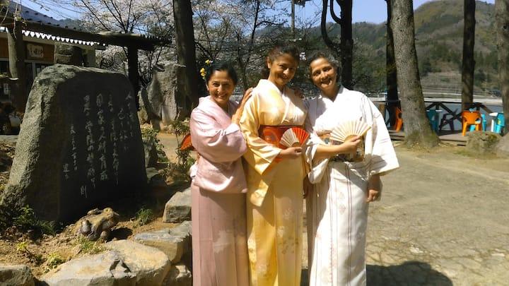 国際交流会館 竜神の杜 さくら山荘①