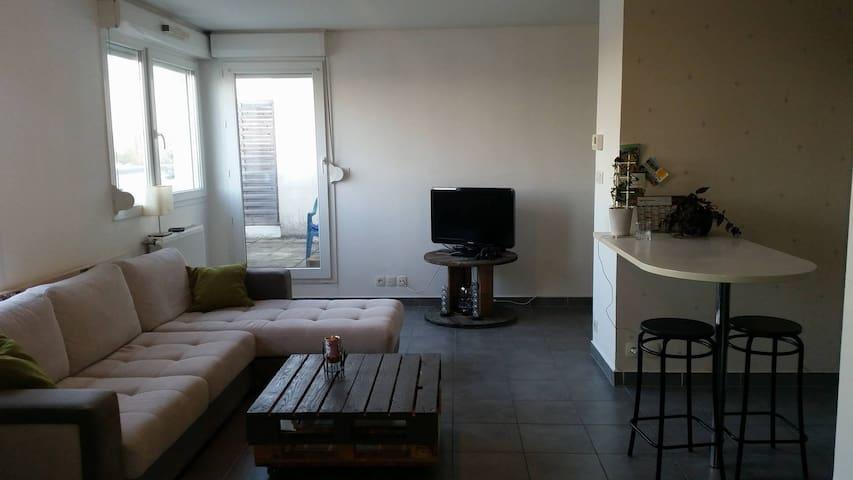 appartement 50m2 - Dijon - Wohnung