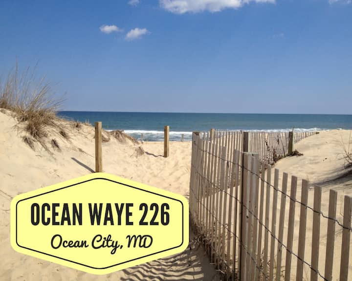 Ocean Waye 226 - NEW Studio w/ Beach Access!