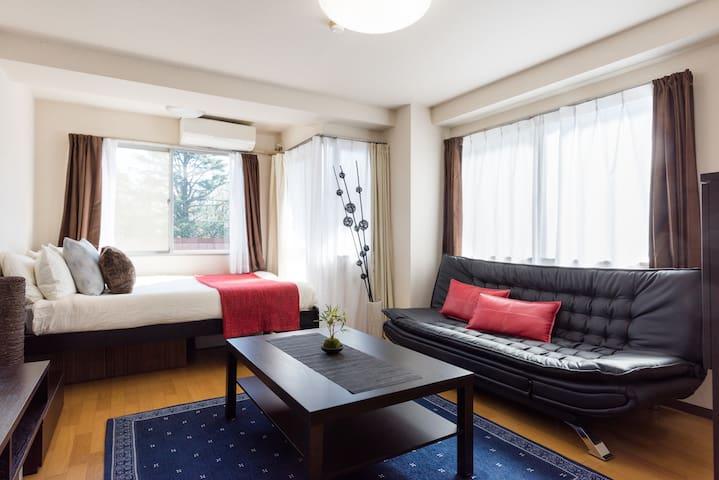 NEW !! Near Roppongi /Tokyo Tower - Fab Studio Apt - Minato-ku - Lägenhet