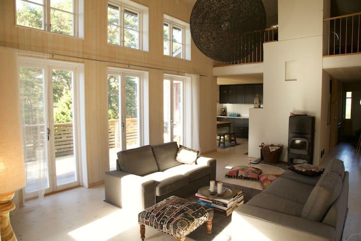 Unique design house, in Stockholm archipelago. - Haninge - Huis