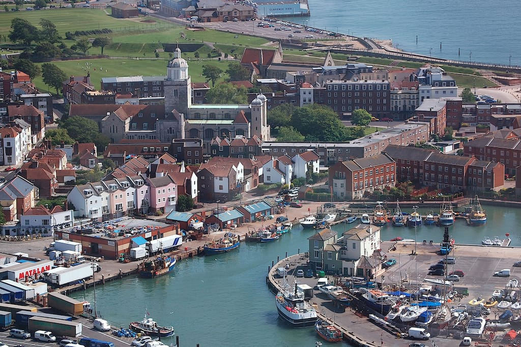 View of Old Portsmouth