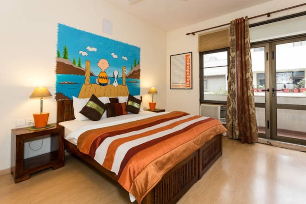 This villa of ours is Cinnamon Stays. Your private 5 room pad - clean, comfortable & quirky.