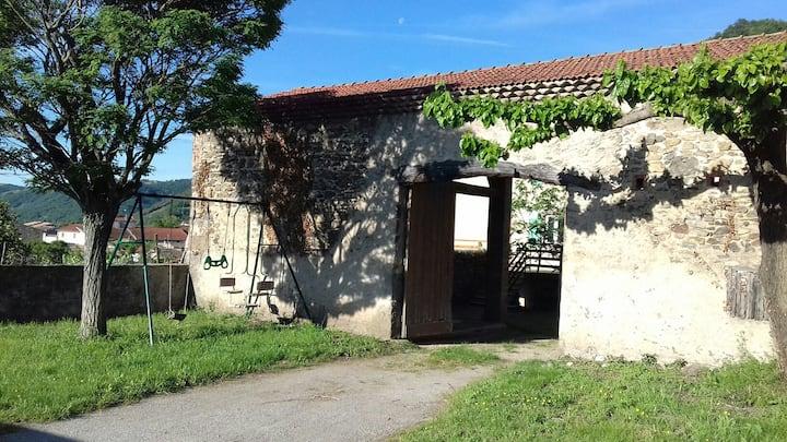 Maison de campagne Ardèche Arras sur Rhône