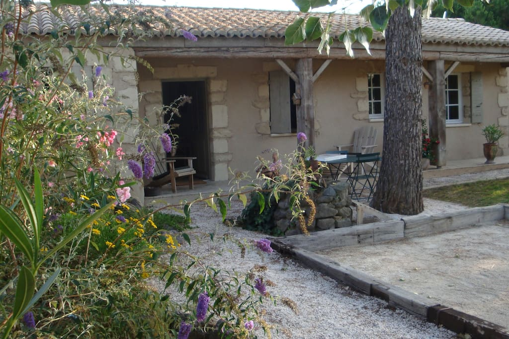 extérieur, jardin privatif