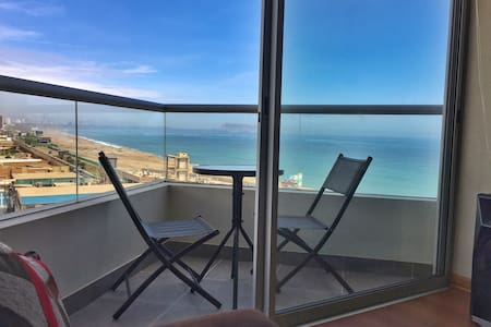 NEW APT W/SEA VIEW AND PANORAMIC POOL - Distrito de Lima - Huoneisto