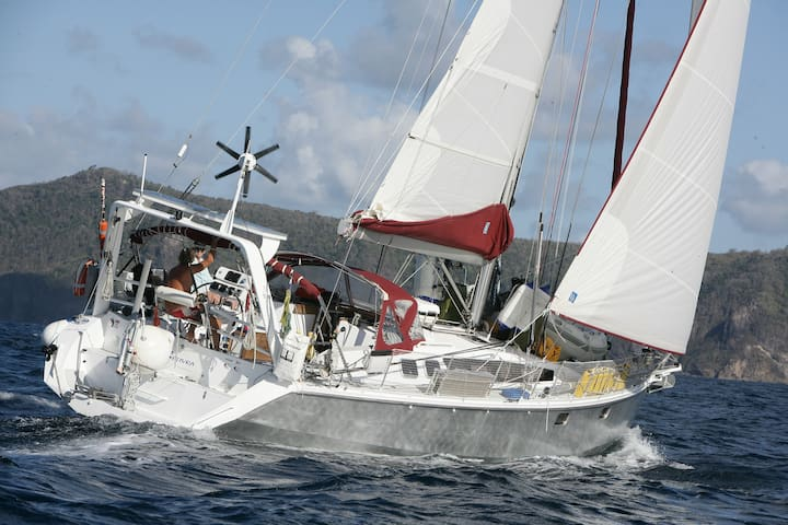 two cabins on a 45ft sailingyacht - St. George's - Boot
