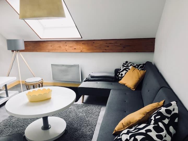 Appartement meublé 50 m², 2ème étage