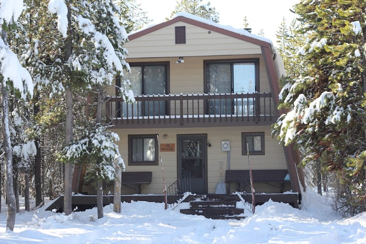 Cozy, Affordable Cabin, OPEN ALL WINTER - Island Park - Chatka