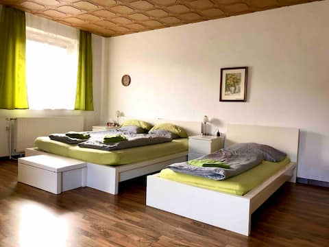 40m2 room with balcony,toilette,cooking facilities
