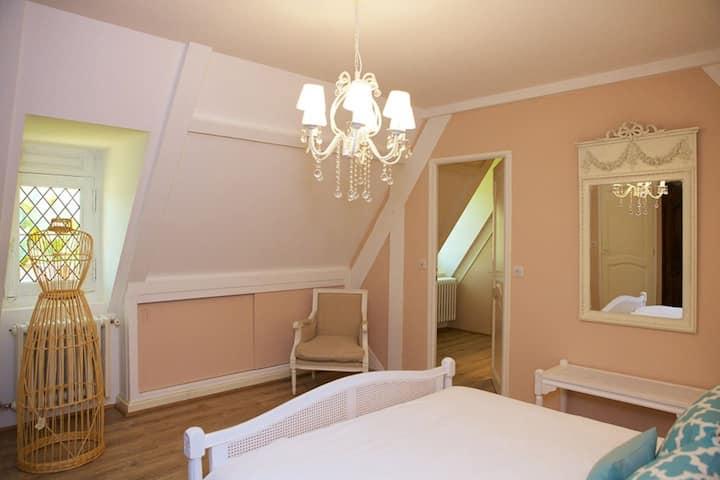 Manoir St Germer - Suite de luxe  2ème étage