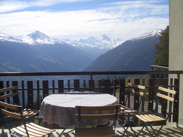 Big ski apartment in  4 Valleys - Verbier ski area