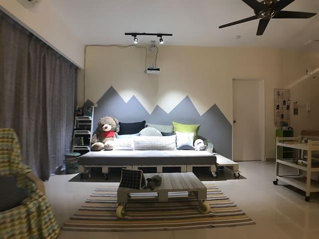 Ebenezer Home & 1 Living+2 Bedrooms (Sea view)