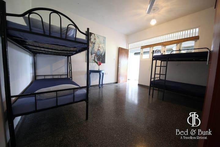 Bed&Bunk Dormitory - Bed 2 (RM3) - Habaraduwa - Slaapzaal